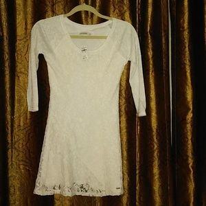 Girls size extra large Abercrombie lace dress